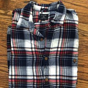 J Crew men's flannel button up